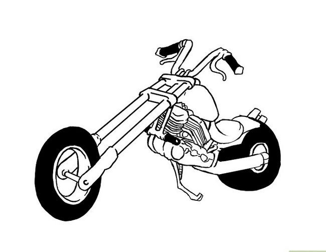 ड्रॉ अ मोटरसायकल स्टेप 12 नामक छवि