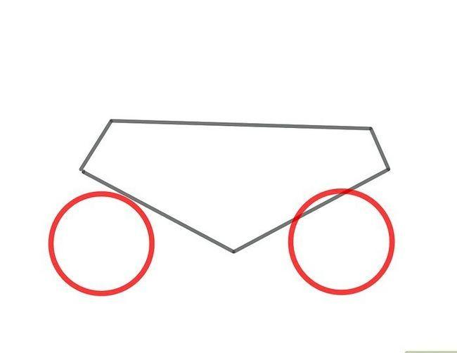 चित्र ड्रा करें एक मोटरसाइकिल चरण 2