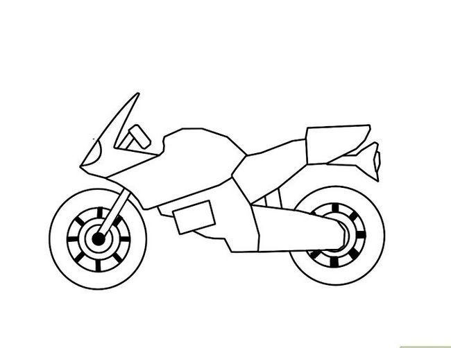 ड्रॉ अ मोटरसायकल चरण 5 नामक छवि