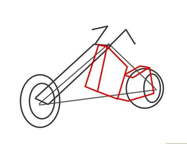 ड्रॉ अ मोटर साइकिल चरण 10 नामक छवि
