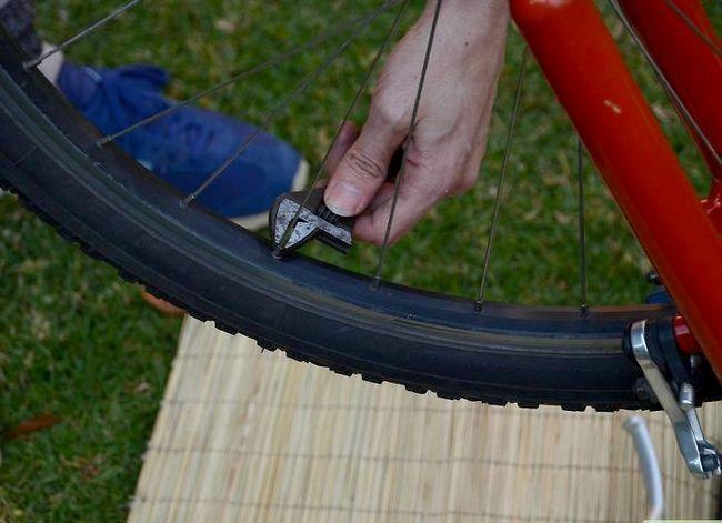 छवि शीर्षक वाली एक साइकिल रिम चरण 6 को उल्लेखित करें