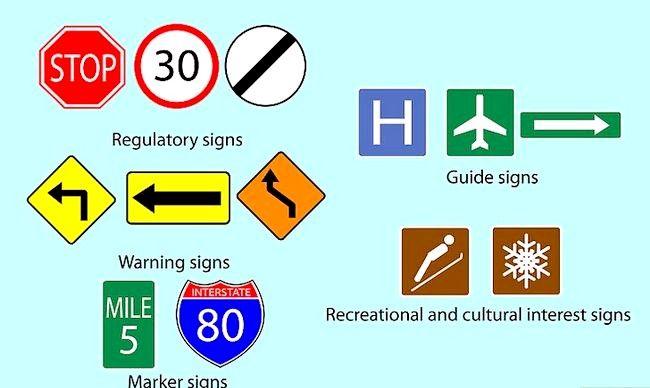 यातायात संकेतों को कैसे समझें