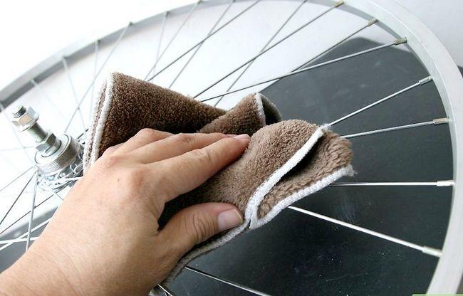एक पॅट रैक के रूप में एक साइकिल टायर फ़्रेम का शीर्षक शीर्षक छवि 4