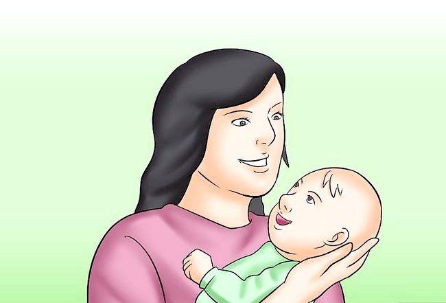 क्रैड होल्ड ए बेबी चरण 3 नामक छवि
