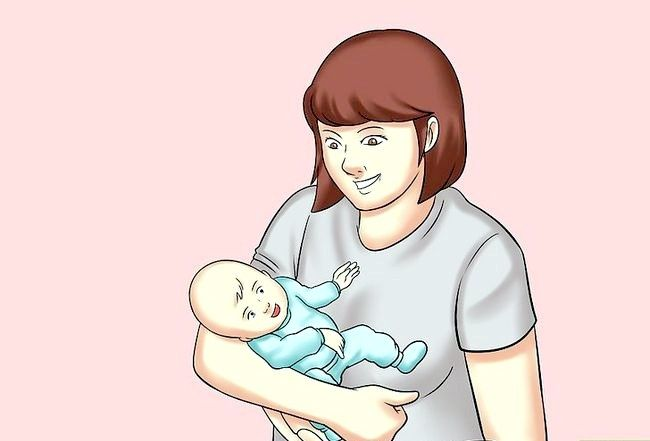 क्रैड होल्ड ए बेबी चरण 4 नामक छवि