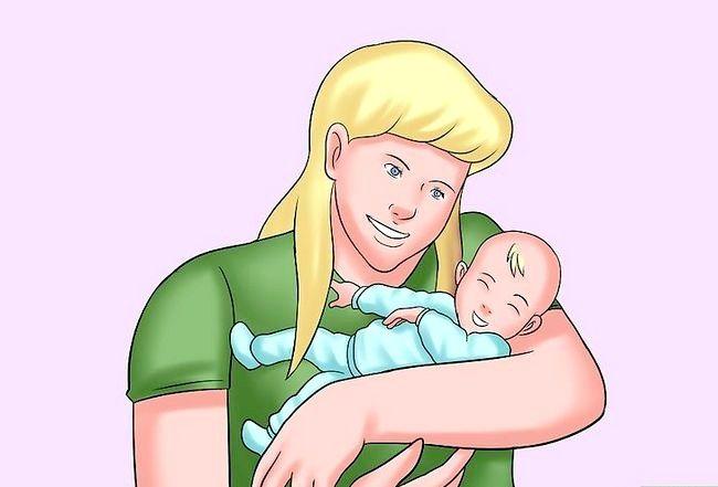 क्रैड होल्ड अ बेबी चरण 5 नामक छवि