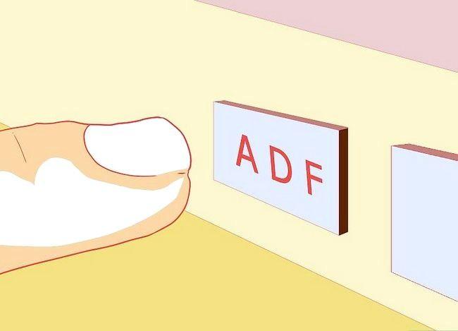 उड़ान के दौरान एडीएफ का उपयोग कैसे करें