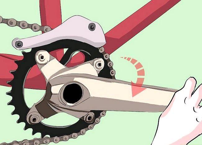 पुट ऑन ए साइकिल चेन चरण 5