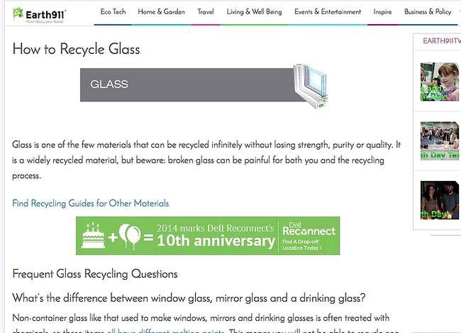 ग्लास रीसायकल कैसे करें