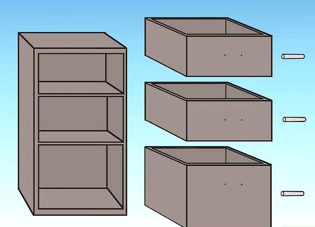 कैसे एक फाइल कैबिनेट फिर से तैयार करें