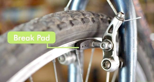 एक बाइक चरण 1 पर फिक्स ब्रेक शीर्षक वाली छवि