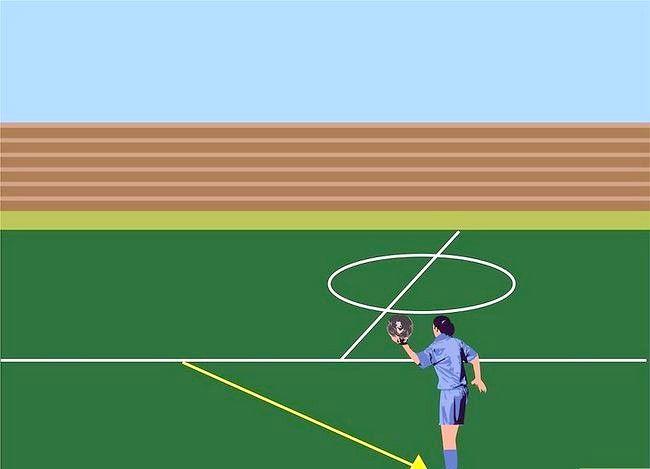 फुटबॉल फ्लिप के साथ एक पक्ष कैसे प्राप्त करें