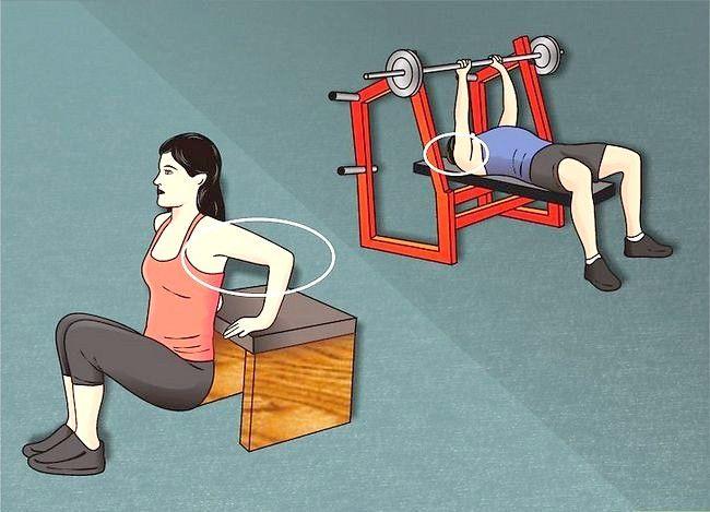 कैसे बड़े triceps है