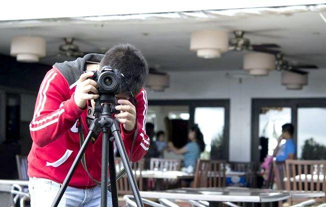 एक डीएसएलआर चरण 3 का इस्तेमाल करते हुए अच्छा फोटो ले लो छवि शीर्षक