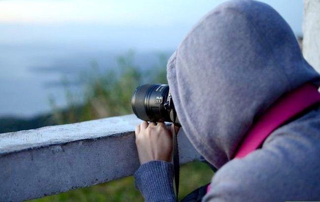 एक डीएसएलआर चरण 4 का इस्तेमाल करते हुए अच्छा फोटो ले लो छवि शीर्षक
