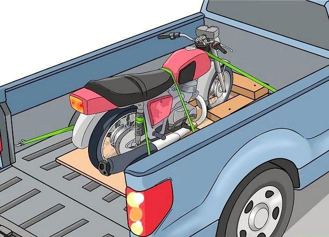 चित्र शीर्षक से एक मोटरसाइकिल कदम 9 ढोना
