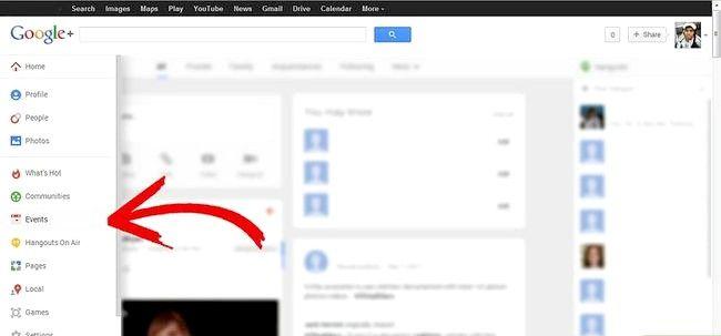 Google Plus में ईवेंट का उपयोग कैसे करें