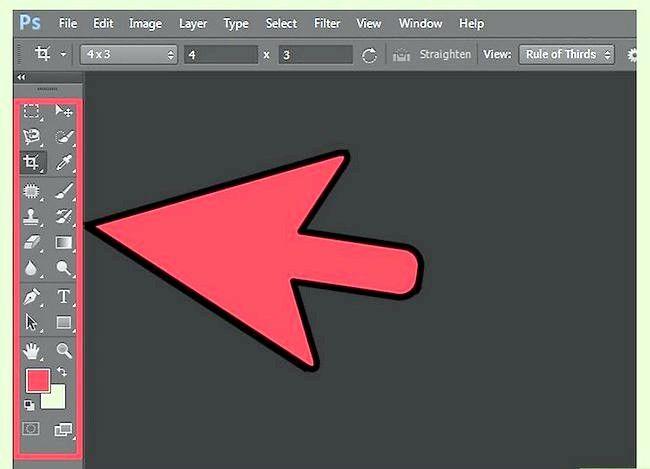 Adobe Photoshop CS6 में उपकरण का उपयोग कैसे करें