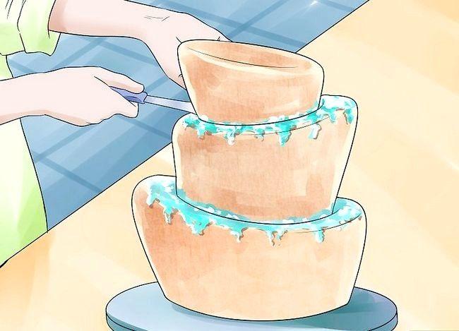 छवि का उपयोग करें टॉप टॉप टॉसी केक पैन चरण 14