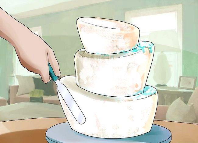 छवि का उपयोग करें शीर्ष टॉपी टर्की के केक पैन चरण 15