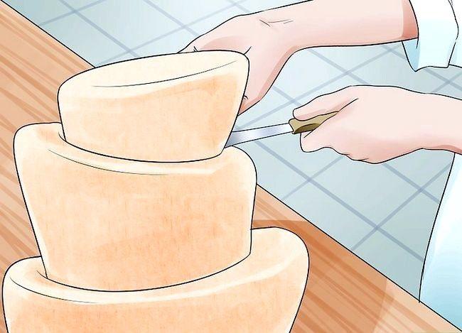 छवि का उपयोग करें शीर्ष टॉपी टर्की केक पैन चरण 10