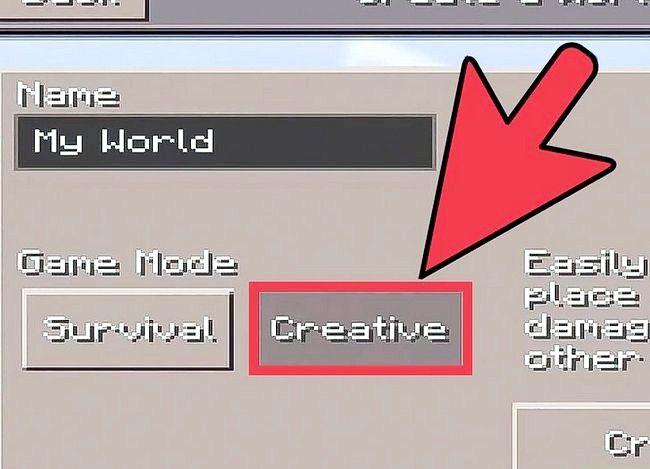 Minecraft PE में बीज (बीज) का उपयोग कैसे करें