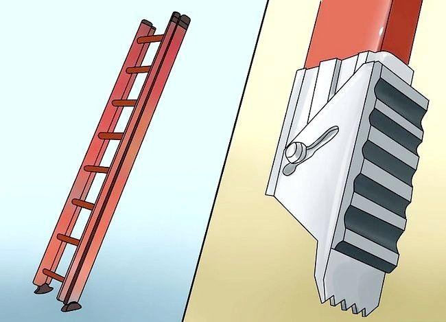 बढ़ाई हुई सीढ़ी का उपयोग कैसे करें