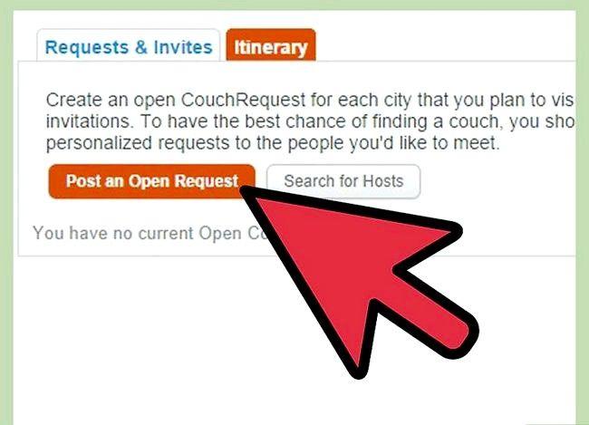 Couchsurfing सोफे प्रबंधक इनबॉक्स चरण 12 का उपयोग शीर्षक वाली छवि