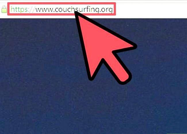 Couchsurfing सोफे प्रबंधक इनबॉक्स चरण 2 का उपयोग करें शीर्षक वाला छवि