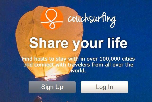 Couchsurfing सोफे प्रबंधक इनबॉक्स चरण 3 का उपयोग शीर्षक वाली छवि