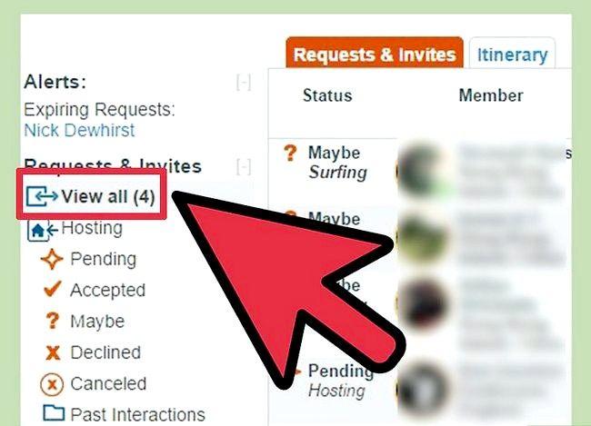 Couchsurfing सोफे प्रबंधक इनबॉक्स चरण 6 का उपयोग करें शीर्षक वाला छवि