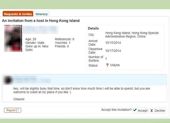 Couchsurfing सोफे प्रबंधक इनबॉक्स चरण 10 का उपयोग करें शीर्षक वाला छवि