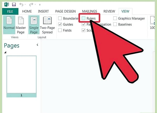 Microsoft प्रकाशक में नियमों का उपयोग कैसे करें