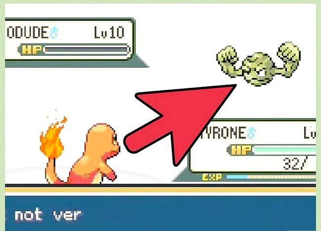 पोकेमोन फायररेड और लीफग्रिने चरण 11 में बीट द फर्स्ट जिम लीडर शीर्षक वाली छवि