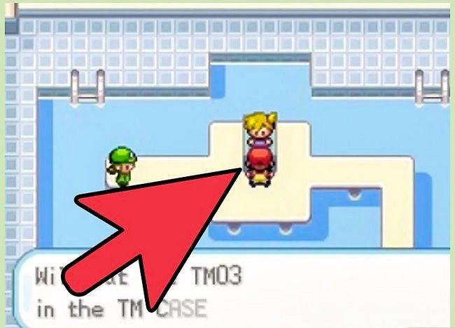 पोकीमोन फायररेड और लीफ़ग्रीन चरण 5 में बीट द फर्स्ट जिम लीडर शीर्षक वाली छवि