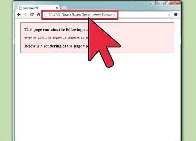 छवि शीर्षक XML फ़ाइल चरण 3 देखें