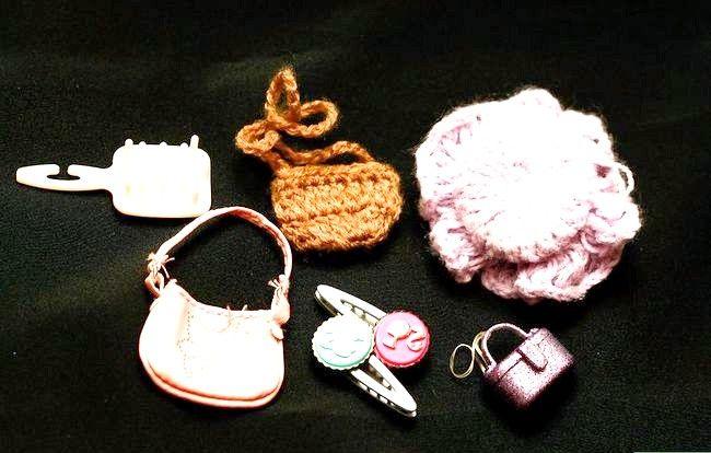 छवि शीर्षक एक पोशाक बार्बी गुड़िया चरण 4