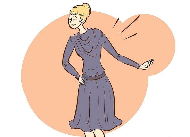 कोको चैनल चरण 4 के अनुसार पोशाक वाला चित्र