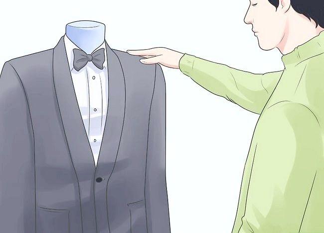 एक काले रंग की टाई इवेंट के लिए ड्रेस नाम वाली छवि चरण 8