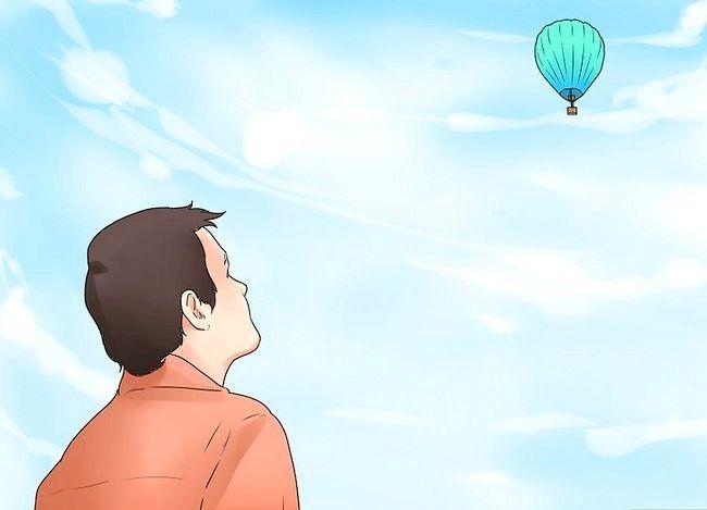 कैसे एक गर्म हवा के गुब्बारे उड़ान भरने के लिए
